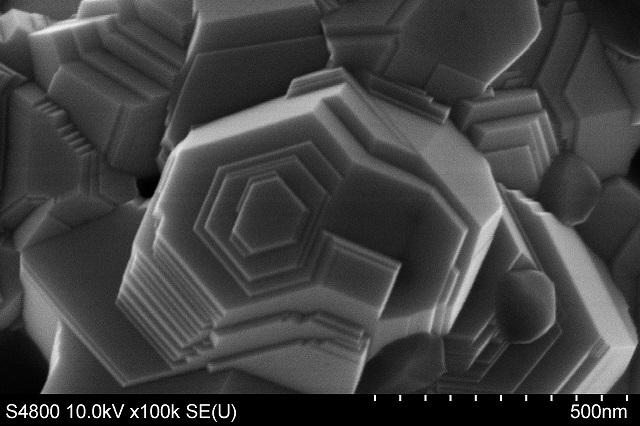SEM inspection of Pt calatyst morphology